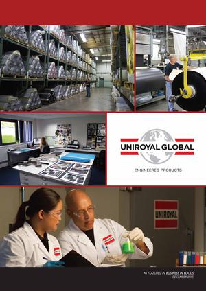Uniroyal Global Engineered Products Featured in Business in Focus Magazine
